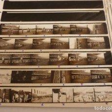 Coleccionismo deportivo: 4 CONTACTOS FOTOGRÁFICOS ORIGINALES INAUGURACIÓN CAMP NOU(24-9-57) F.C.BARCELONA-BARÇA(131 FOTOS). Lote 148881978