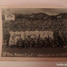 Coleccionismo deportivo: REAL MADRID. PEQUEÑA COPA DE CLUBES. VENEZUELA (A.1952). Lote 149741098