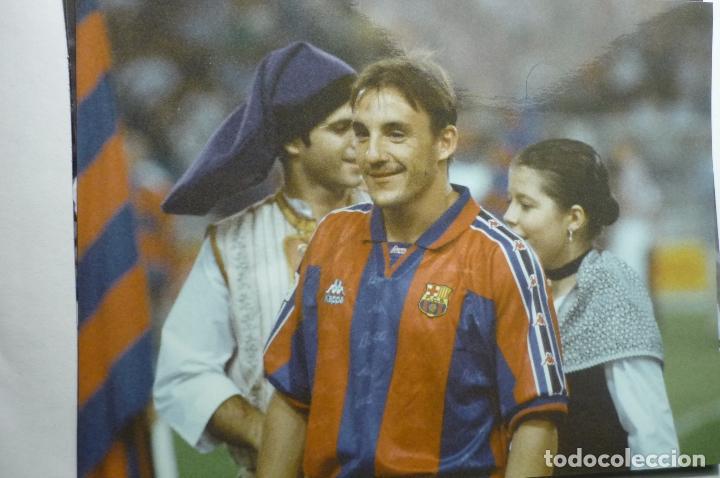 FOTOGRAFIA PRENSA TAMAÑO CUARTILLA JUGADOR FC.BARCELONA FERRER (Coleccionismo Deportivo - Documentos - Fotografías de Deportes)