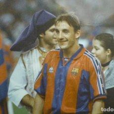 Coleccionismo deportivo: FOTOGRAFIA PRENSA TAMAÑO CUARTILLA JUGADOR FC.BARCELONA FERRER. Lote 149895198