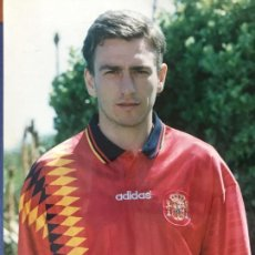 Coleccionismo deportivo: FOTOGRAFIA JORGE OTERO CON LA SELECCION ESPAÑOLA. REALIZADA POR JAVIER GALVEZ.. Lote 150653270