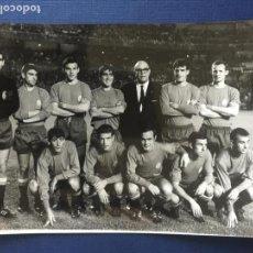 Coleccionismo deportivo: FOTOGRAFIA ALINEACION SELECCION ESPAÑOLA SEPTIEMBRE 1967.. Lote 150658874