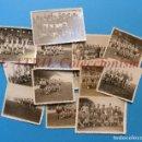 Coleccionismo deportivo: 13 ANTIGUAS, BONITAS E INTERESANTES FOTOGRAFIAS DE ALINEACIONES DE EQUIPOS DE FUTBOL - AÑOS 1930-40. Lote 150943318