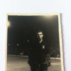 Coleccionismo deportivo: FOTO AÑO 1995 FIRMADA ANTONIO LUALA PORTUGAL TROFEO TERESA HERRERA A CORUÑA HOCKEY PATINES HOQUEI. Lote 151504361