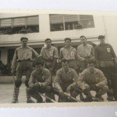 Coleccionismo deportivo: FOTO 1955 C. ASTURIANO TORNEO NAVIDAD EN CORUÑA, SANTA LUCÍA , DEPORTIVO. Lote 151505157