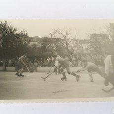 Coleccionismo deportivo: FOTO TORNEO NAVIDAD 1955 A CORUÑA HOCKEY HOQUEI PATINES GALICIA. Lote 151508013