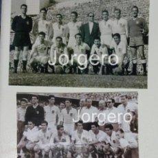 Coleccionismo deportivo: VALENCIA C.F. LOTE 2 FOTOS CAMPEÓN COPA GENERALÍSIMO 1953-1954 EN CHAMARTÍN CONTRA EL BARCELONA. Lote 217289451