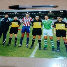 Coleccionismo deportivo: ANTIGUA FOTO ARBITROS Y CAPITANES SPORTING CELTA - AÑOS 90- 22 X 15 -I VER FOTOS. Lote 153381494