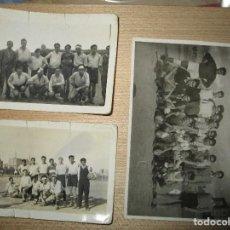 Coleccionismo deportivo: MADRID ANTIGUAS FOTOS DE PLANTILLA FUTBOL AÑOS 40 FIRMAS EN REVERSO. Lote 154459930