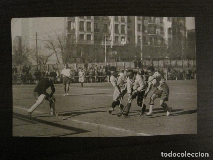 MADRID-HOCKEY CAMPEONATO FERROVIARIO CLUB DE CAMPO-FOTOGRAFIA ANTIGUA-VER FOTOS-(V-16.132) (Coleccionismo Deportivo - Documentos - Fotografías de Deportes)
