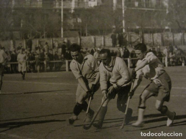 Coleccionismo deportivo: MADRID-HOCKEY CAMPEONATO FERROVIARIO CLUB DE CAMPO-FOTOGRAFIA ANTIGUA-VER FOTOS-(V-16.132) - Foto 2 - 155159438