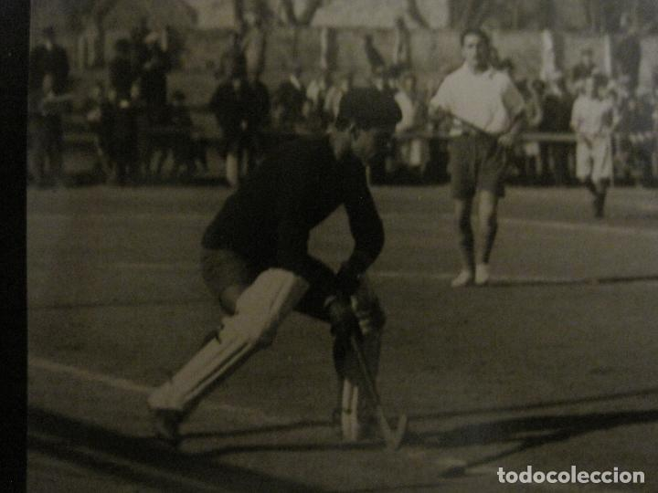 Coleccionismo deportivo: MADRID-HOCKEY CAMPEONATO FERROVIARIO CLUB DE CAMPO-FOTOGRAFIA ANTIGUA-VER FOTOS-(V-16.132) - Foto 3 - 155159438
