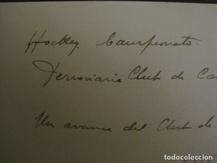 Coleccionismo deportivo: MADRID-HOCKEY CAMPEONATO FERROVIARIO CLUB DE CAMPO-FOTOGRAFIA ANTIGUA-VER FOTOS-(V-16.132) - Foto 5 - 155159438
