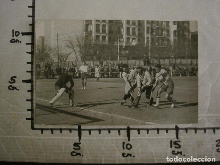 Coleccionismo deportivo: MADRID-HOCKEY CAMPEONATO FERROVIARIO CLUB DE CAMPO-FOTOGRAFIA ANTIGUA-VER FOTOS-(V-16.132) - Foto 8 - 155159438