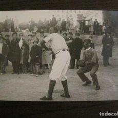 Coleccionismo deportivo: MADRID-BEISBOL-BASEBALL EN EL CAMPO DEL CLUB-FOTOGRAFIA ANTIGUA-VER FOTOS-(V-16.134). Lote 155159790