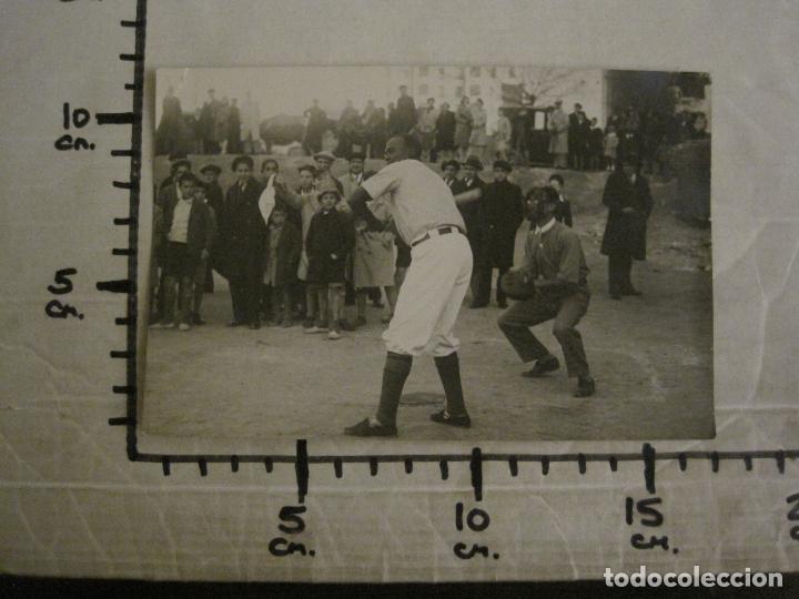 Coleccionismo deportivo: MADRID-BEISBOL-BASEBALL EN EL CAMPO DEL CLUB-FOTOGRAFIA ANTIGUA-VER FOTOS-(V-16.134) - Foto 7 - 155159790