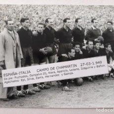 Coleccionismo deportivo: FOTOGRAFIA SELECCION ESPAÑOLA .1.949. Lote 155341870