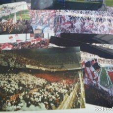 Coleccionismo deportivo: LOTE DE 10 FOTOS DE ULTRAS DEL SEVILLA. BIRIS NORTE ANTIBETICOS. Lote 155447466