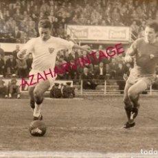 Coleccionismo deportivo: AÑOS 60, PARTIDO SEVILLA,F.C. - ELCHE, C.F., OLIVERO, 180X120MM. Lote 155671322