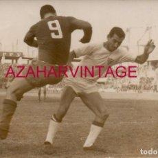 Coleccionismo deportivo: AÑOS 60, PARTIDO SEVILLA,F.C. - ELCHE, C.F., VALERO, RUIZ SOSA, 180X120MM. Lote 155671714