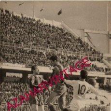 Coleccionismo deportivo: AÑOS 60, PARTIDO SEVILLA,F.C. - F.C.BARCELONA, 180X120MM. Lote 155672014
