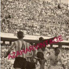 Coleccionismo deportivo: AÑOS 60, PARTIDO SEVILLA,F.C. - REAL BETIS, MATEO, 180X120MM. Lote 155672266