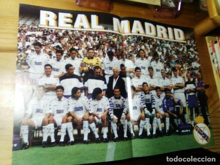 POSTER DE LA REVISTA CHAMPIONS LEAGUE 1995 REAL MADRID (Coleccionismo Deportivo - Documentos - Fotografías de Deportes)