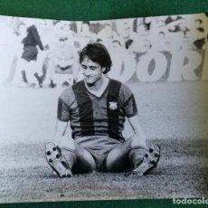 Coleccionismo deportivo: FOTOGRAFIA CRUIFF - FOTO ORIGINAL 18X24 - FUTBOL CLUB BARCELONA - 1974/75 BARÇA. Lote 156136270