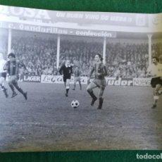 Coleccionismo deportivo: FOTOGRAFIA CRUIFF 6 - FOTO ORIGINAL 18X24 - FUTBOL CLUB BARCELONA - 1974/75 SANTANDER / BARÇA. Lote 156163834