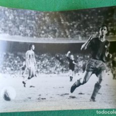 Coleccionismo deportivo: FOTOGRAFIA CRUIFF 7 - FOTO ORIGINAL 18X24 - FUTBOL CLUB BARCELONA - 1974/75 NOU CAMP. Lote 156164354