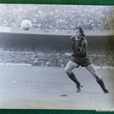 Coleccionismo deportivo: FOTOGRAFIA CRUIFF 10 - FOTO ORIGINAL 18X24 - FUTBOL CLUB BARCELONA - BARÇA - 1974/75 NOU CAMP. Lote 156167374