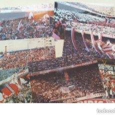 Coleccionismo deportivo: LOTE DE 7 FOTOS DE ULTRAS DEL SEVILLA. BIRIS NORTE ANTIBETICOS.. Lote 156596758