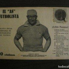 Coleccionismo deportivo: ARRATE-REAL SOCIEDAD-FOTOGRAFIAS FUTBOL-AS FUTBOLISTA-FC BARCELONA-ESPANYOL-VER FOTOS(V-16.176). Lote 156880250