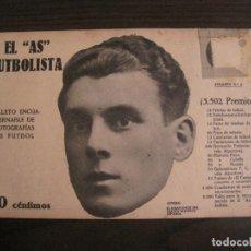 Coleccionismo deportivo: OTERO-ESPAÑA OLIMPICA-FOTOGRAFIAS FUTBOL-AS FUTBOLISTA-FÜRTH VS FC BARCELONA-VER FOTOS(V-16.177). Lote 156880722