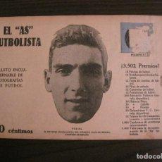Coleccionismo deportivo: VIDAL-ATHLETIC CLUB-FOTOGRAFIAS FUTBOL-AS FUTBOLISTA-SERVETTE-ZAMORA-CD JUPITER-VER FOTOS(V-16.179). Lote 156882126