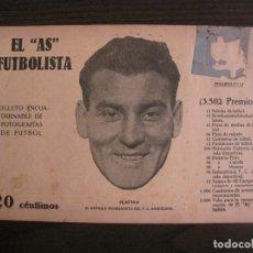 Coleccionismo deportivo: PLATTKO-FC BARCELONA-FOTOGRAFIAS FUTBOL-AS FUTBOLISTA-EUROPA-SANS-ESPARRAGUERA-VER FOTOS(V-16.180). Lote 156882642