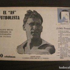 Coleccionismo deportivo: SANCHO-FC BARCELONA-FOTOGRAFIAS FUTBOL-AS FUTBOLISTA-FRANCIA VS ESPAÑA-MARTINENC-VER FOTOS(V-16.181). Lote 156883058