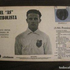 Coleccionismo deportivo: BRUGUERA-FC BARCELONA-FOTOGRAFIAS FUTBOL-AS FUTBOLISTA-SANT MIRREN-NOTTS COUNTY-VER FOTOS(V-16.182). Lote 156883546
