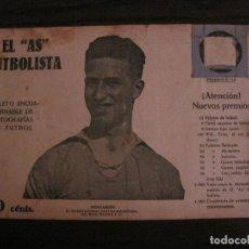 Coleccionismo deportivo: MONJARDIN-REAL MADRID-FOTOGRAFIAS FUTBOL-AS FUTBOLISTA-FC BARCELONA-SANS-ESPAÑOL-VER FOTOS(V-16.187). Lote 156885730