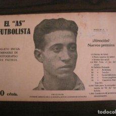Coleccionismo deportivo: PELLICER-CD EUROPA-FOTOGRAFIAS FUTBOL-AS FUTBOLISTA-ATLETIC VS SLAVIA DE PRAGA-VER FOTOS(V-16.191). Lote 156887850
