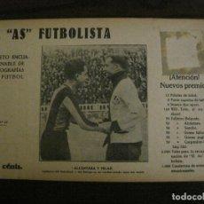 Coleccionismo deportivo: ALCANTARA-FC BARCELONA-PELAO-CD EUROPA-FOTOGRAFIAS FUTBOL-AS FUTBOLISTA-VER FOTOS(V-16.196). Lote 156890722