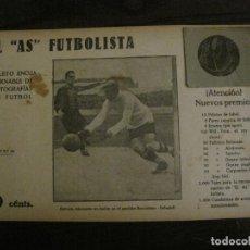 Coleccionismo deportivo: ESTRUCH-ALCANTARA-FC BARCELONA VS CE SABADELL-FOTOGRAFIAS FUTBOL-AS FUTBOLISTA-VER FOTOS(V-16.198. Lote 156891430