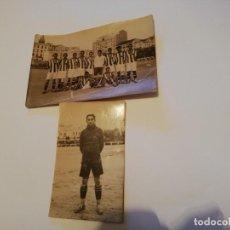 Coleccionismo deportivo: DOS FOTOGRAFÍA RACING SANTANDER FÚTBOL AÑOS 20. Lote 157014226
