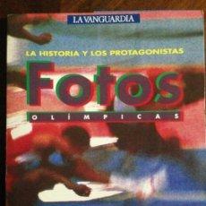 Coleccionismo deportivo: FOTOS OLÍMPICAS LA HISTORIA Y LOS PROTAGONISTAS - 58 LÁMINAS. Lote 158424570
