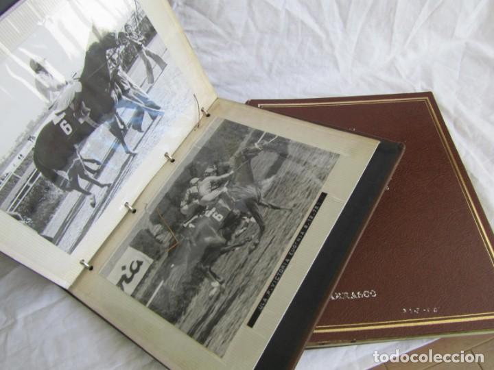 2 ÁLBUMES DE FOTOS DE HÍPICA AÑOS 70. VER FOTOGRAFÍAS ADICIONALES (Coleccionismo Deportivo - Documentos - Fotografías de Deportes)