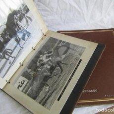 Coleccionismo deportivo - 2 álbumes de fotos de hípica años 70. Ver fotografías adicionales - 158809614