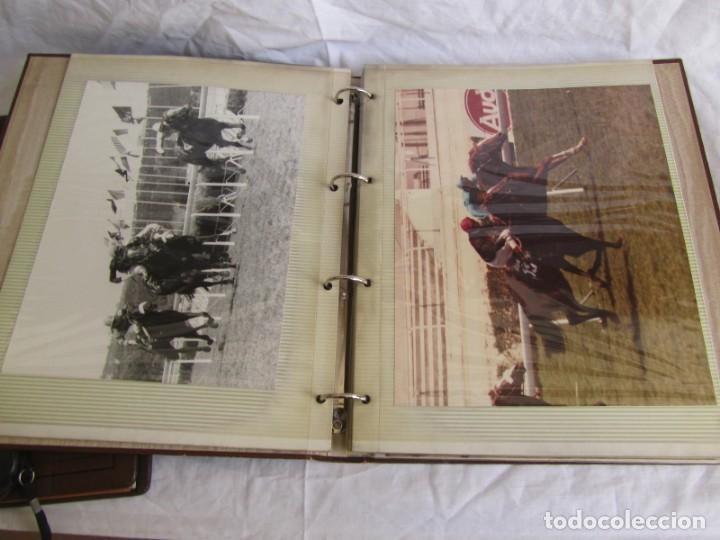 Coleccionismo deportivo: 2 álbumes de fotos de hípica años 70. Ver fotografías adicionales - Foto 9 - 158809614