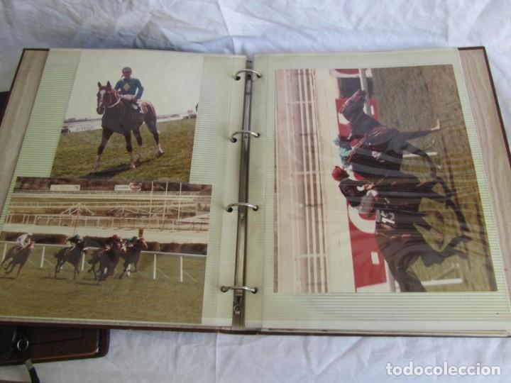 Coleccionismo deportivo: 2 álbumes de fotos de hípica años 70. Ver fotografías adicionales - Foto 10 - 158809614