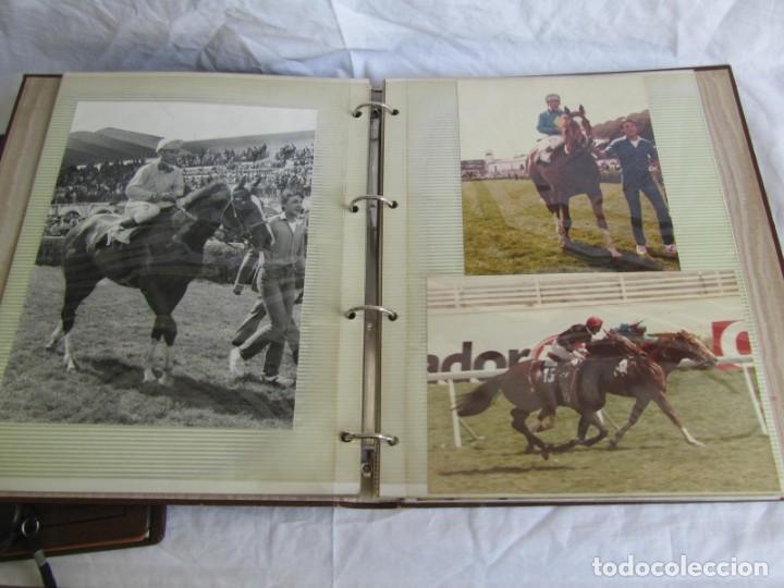 Coleccionismo deportivo: 2 álbumes de fotos de hípica años 70. Ver fotografías adicionales - Foto 11 - 158809614