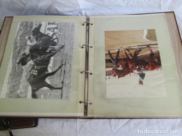 Coleccionismo deportivo: 2 álbumes de fotos de hípica años 70. Ver fotografías adicionales - Foto 12 - 158809614